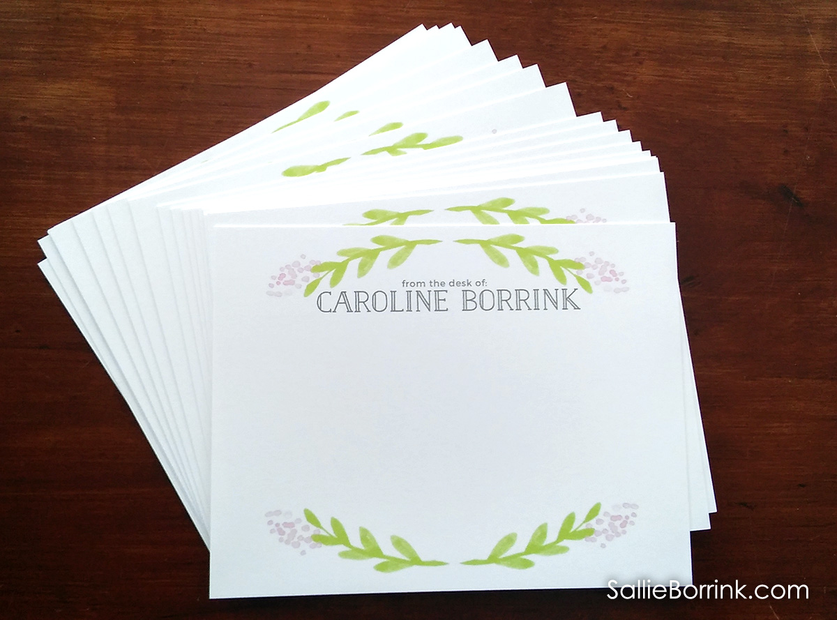 Personalized Notecards for Women and Girls