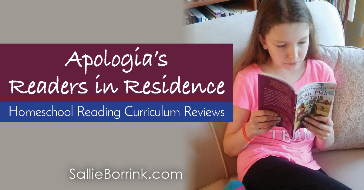 Apologia's Readers in Residence Homeschool Reading Curriculum Reviews 2