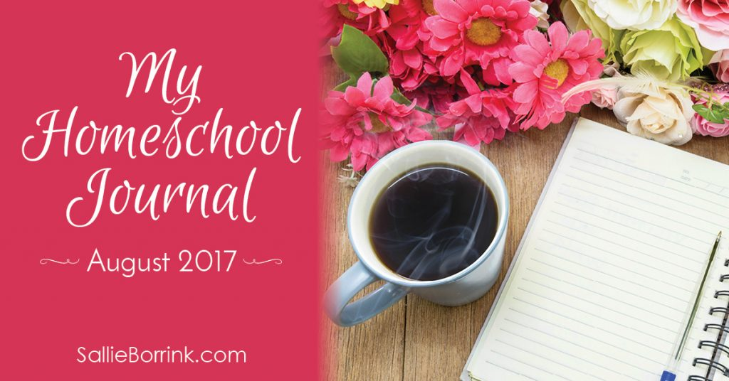 My Homeschool Journal - August 2017 2