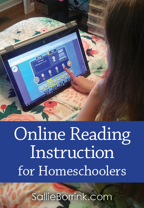 Online Reading Instruction for Homeschoolers