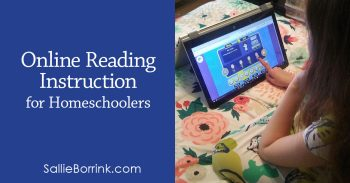 Online Reading Instruction for Homeschoolers 2