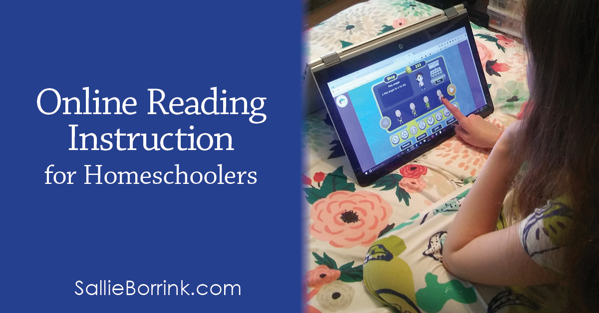 Online Reading Instruction for Homeschoolers 2