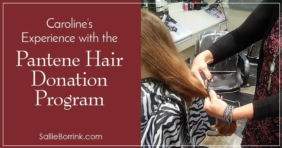 Caroline's Experience with the Pantene Hair Donation Program 2