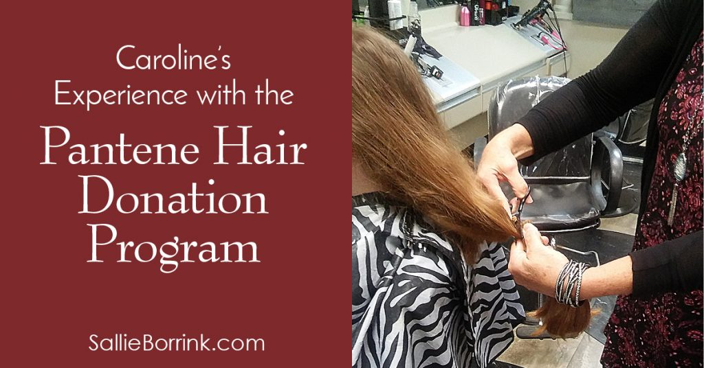 Caroline's Experience with the Pantene Hair Donation Program
