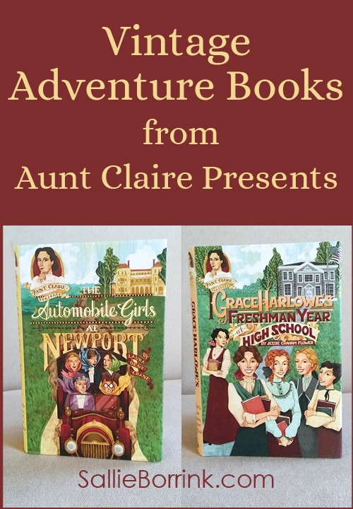 Vintage Adventure Books from Aunt Claire Presents
