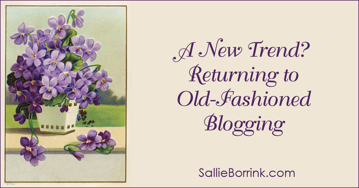 A New Trend Returning to Old-Fashioned Blogging 2