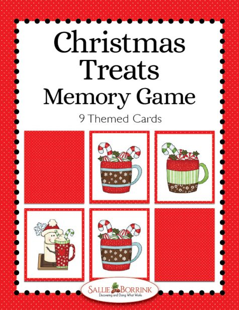 Christmas Treats Memory Game
