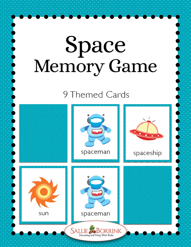 Space Memory Game