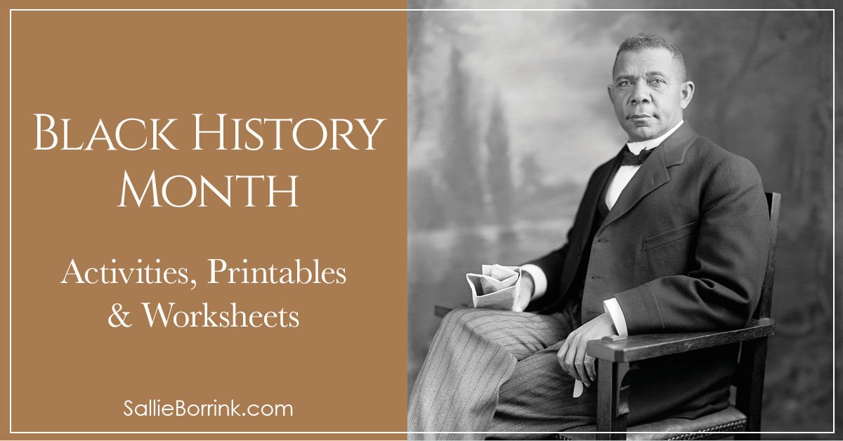 Black History Month Activities Printables and Worksheets 2