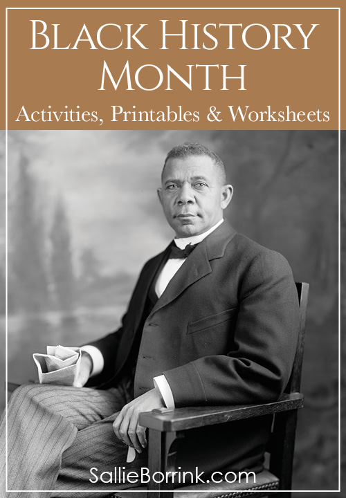 Black History Month Activities Printables and Worksheets