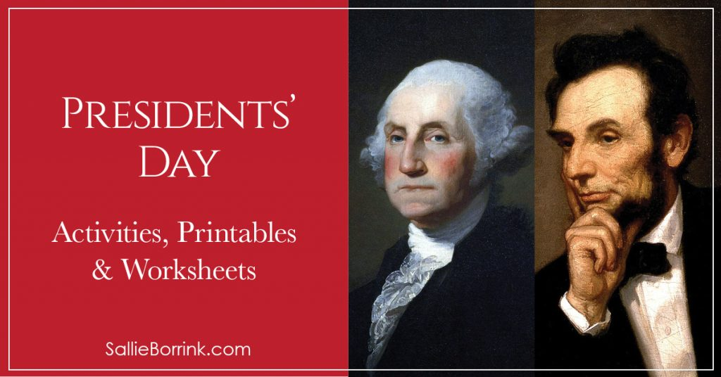 Presidents Day Activities Printables and Worksheets 2