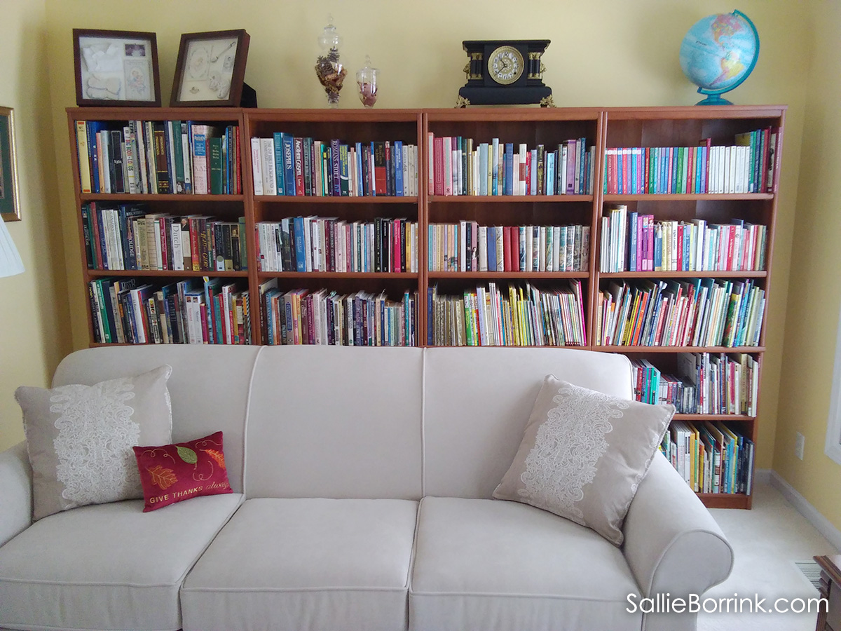Home Library and Couch