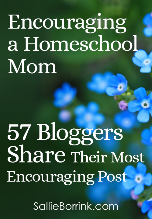 Encouraging a Homeschool Mom - 57 Bloggers Share Their Most Encouraging Post