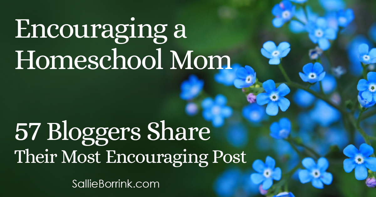 Encouraging a Homeschool Mom - 57 Bloggers Share Their Most Encouraging Post 2