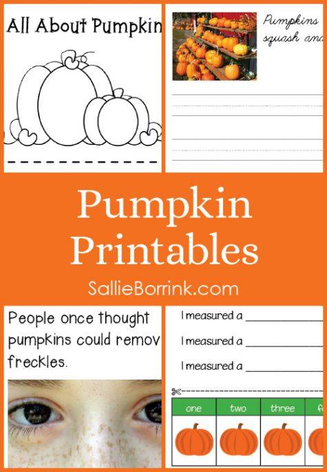 Pumpkins Printables