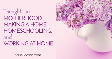 Thoughts on Motherhood, Making a Home, Homeschooling, and Working at Home 2