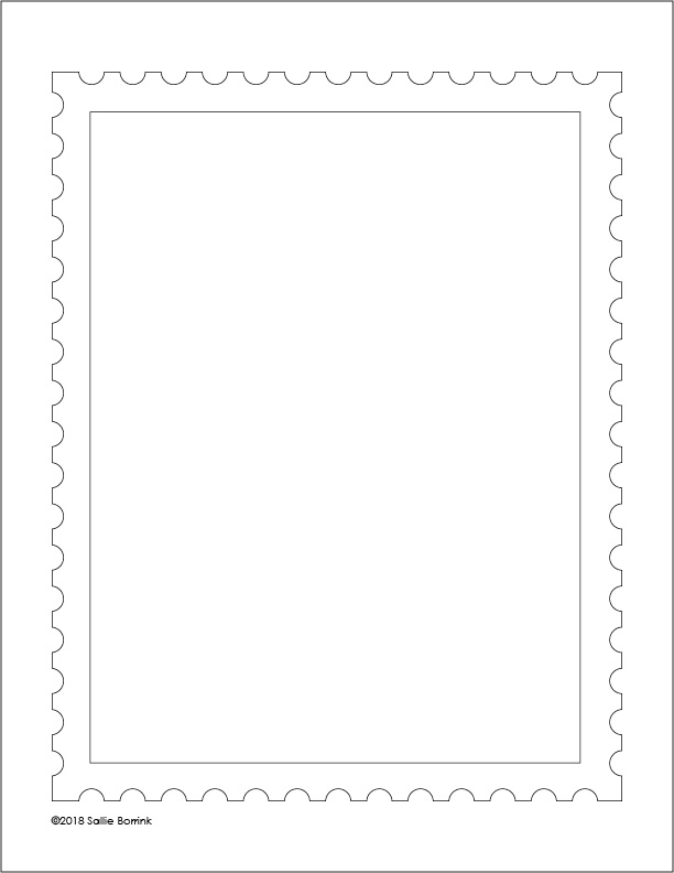 Unit Study Postage Stamp