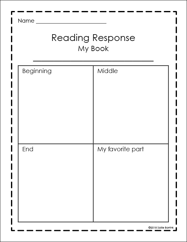 Unit Study Reading Response