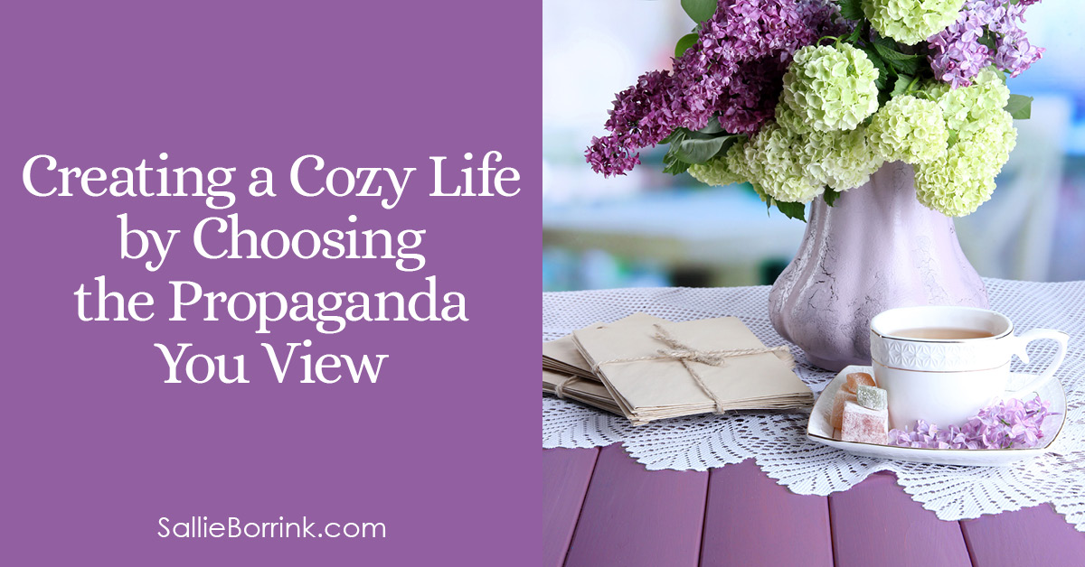 Creating a Cozy Life by Choosing the Propaganda You View 2