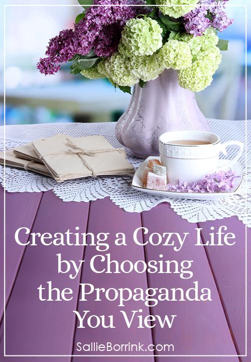 Creating a Cozy Life by Choosing the Propaganda You View