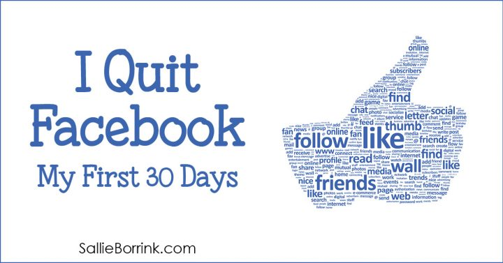 I Quit Facebook – My First 30 Days
