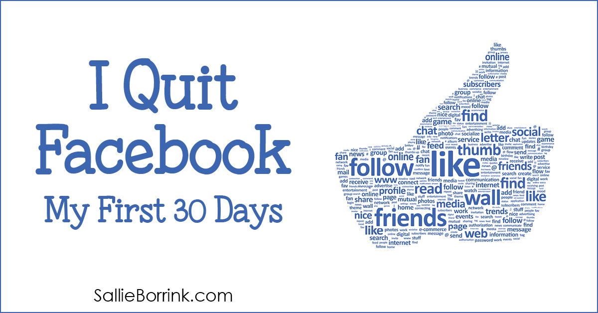 I Quit Facebook - My First 30 Days 2