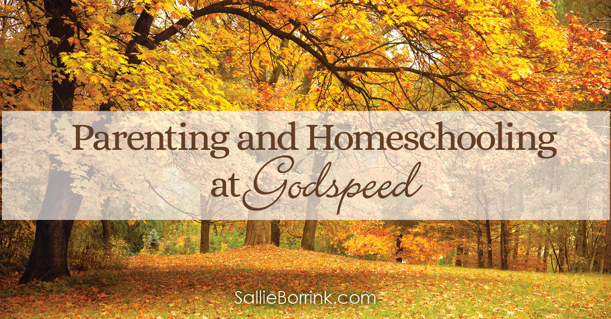 Parenting and Homeschooling at Godspeed 2