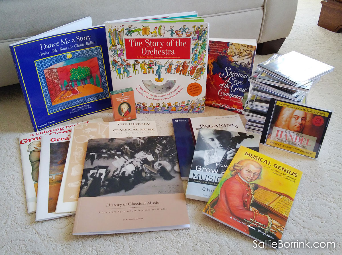 Beautiful Feet Curriculum Reviews - History of Classical Music Books and CDs
