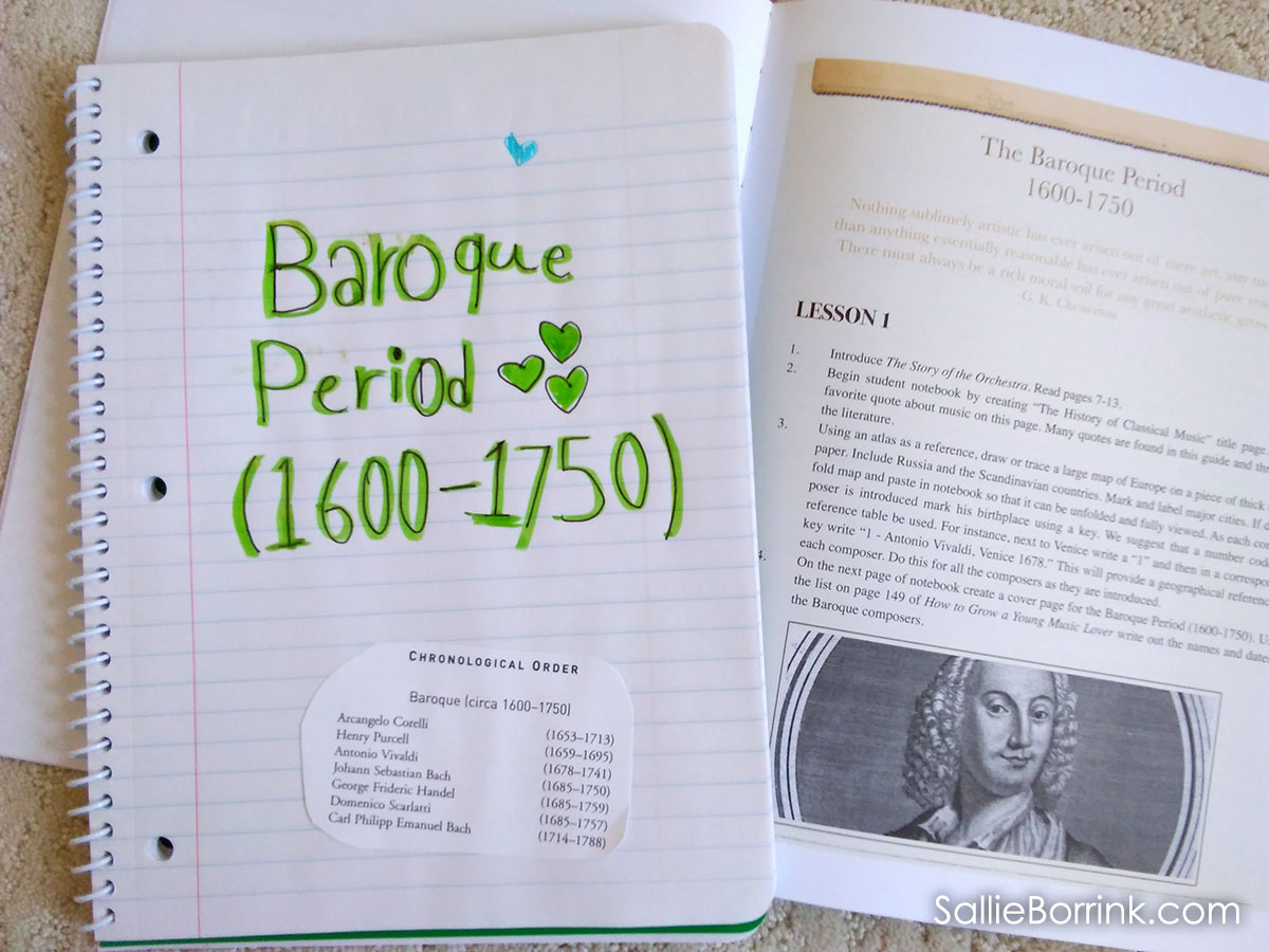 Beautiful Feet Curriculum Reviews - History of Classical Music Notebook