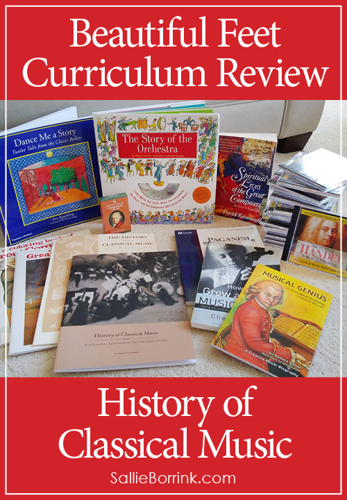 Beautiful Feet Curriculum Review - History of Classical Music