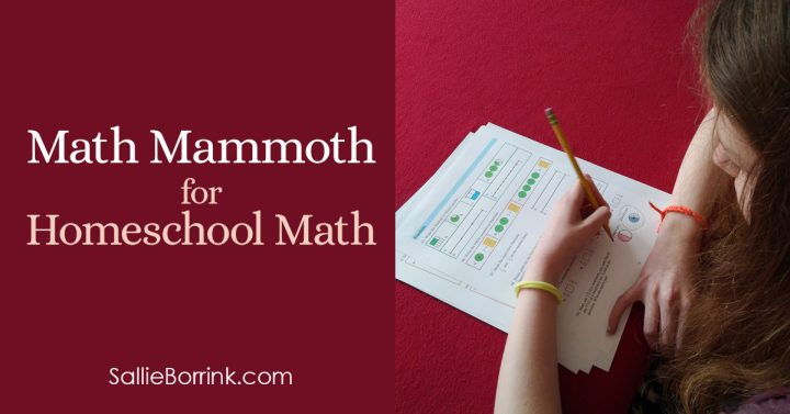 Math Mammoth for Homeschool Math 2
