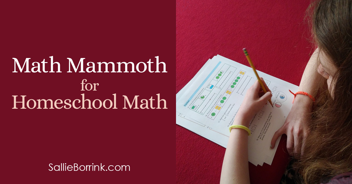 Math Mammoth for Homeschool Math 2