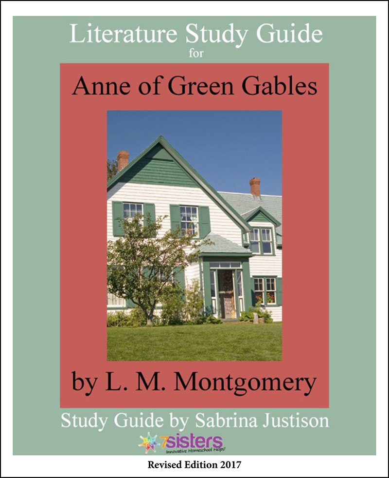 Anne of Green Gables Literature Guide Homeschool Curriculum