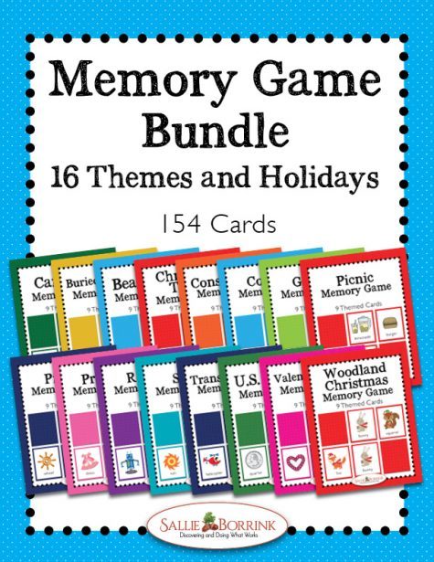 Memory Games Bundle