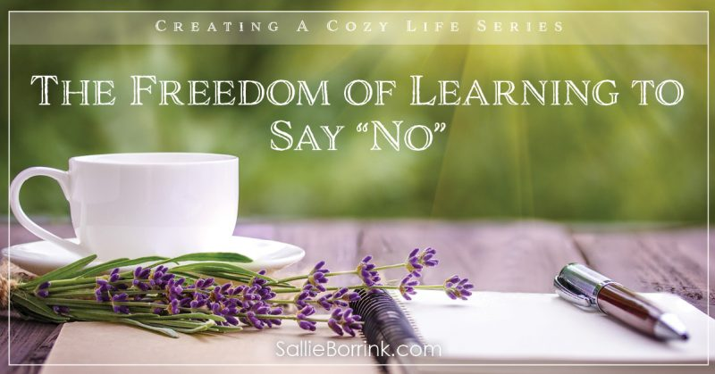 """The Freedom of Learning to Say """"No"""" 2"""