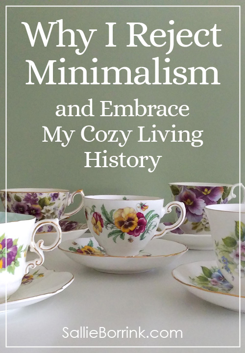 Why I Reject Minimalism and Embrace My Cozy Living History