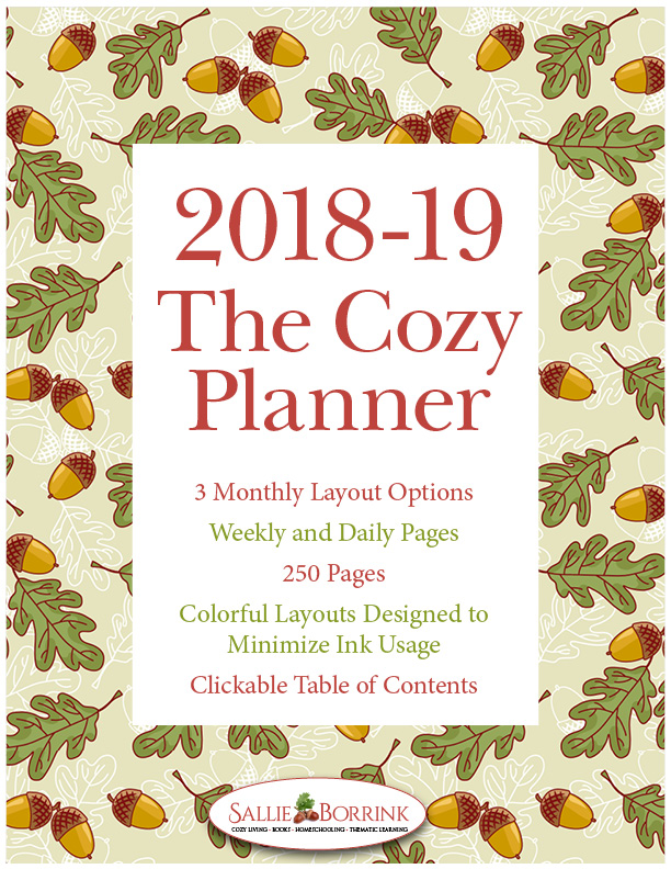 2018-19 The Cozy Planner