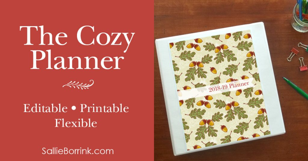 The Cozy Planner at Sallie Borrink