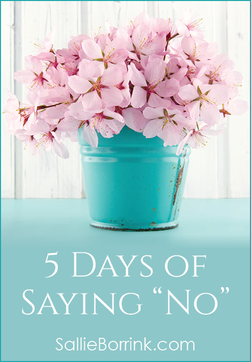 5 Days of Saying No