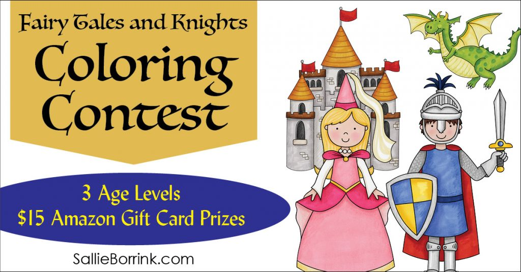 Fairy Tales and Knights Coloring Contest 2