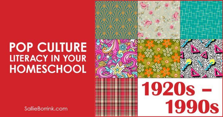 Pop Culture Literacy in Your Homeschool 2