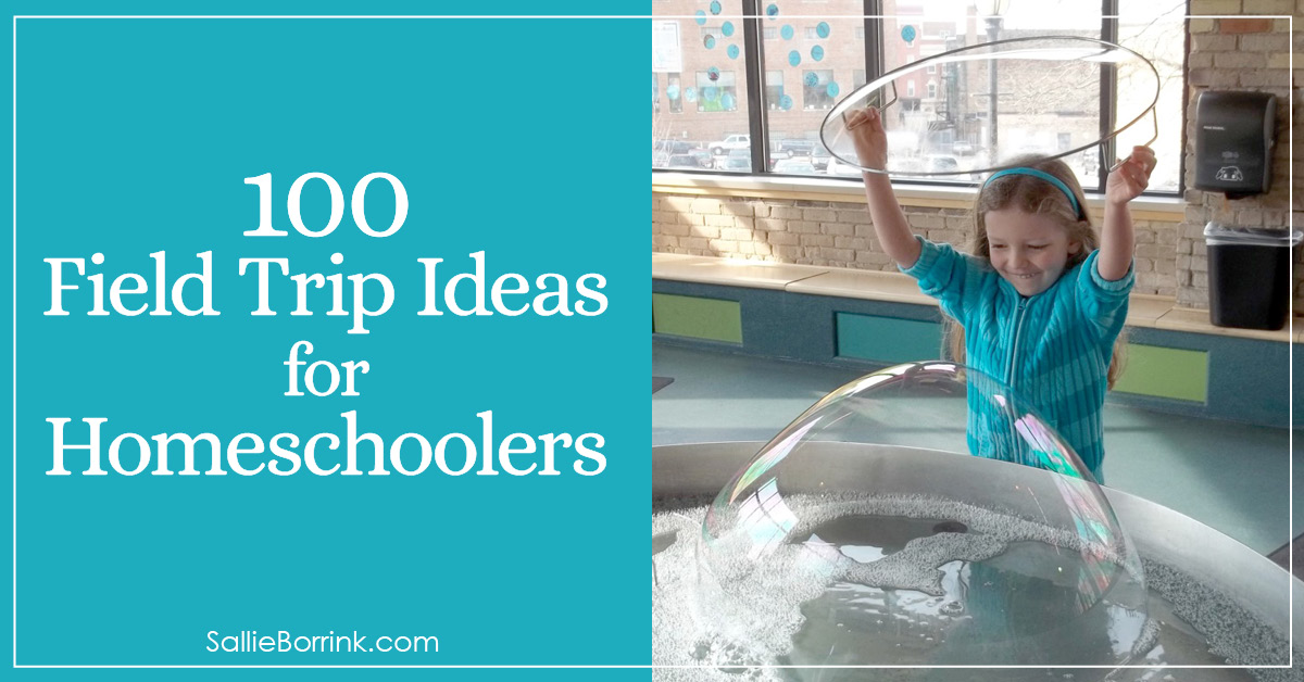100 Field Trip Ideas for Homeschoolers 2