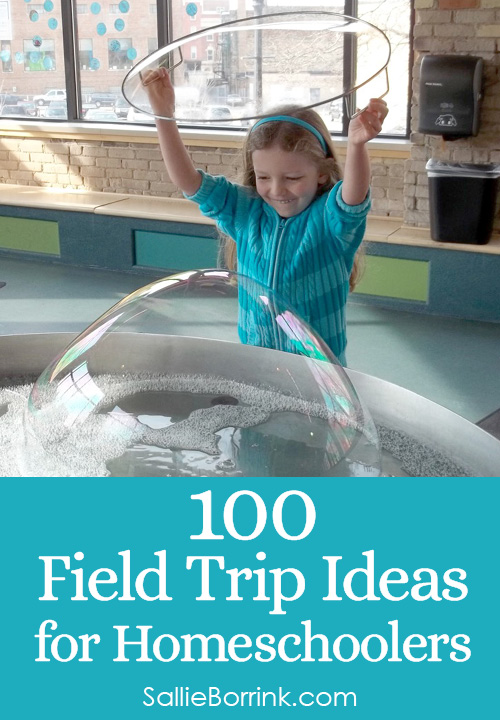 100 Field Trip Ideas for Homeschoolers