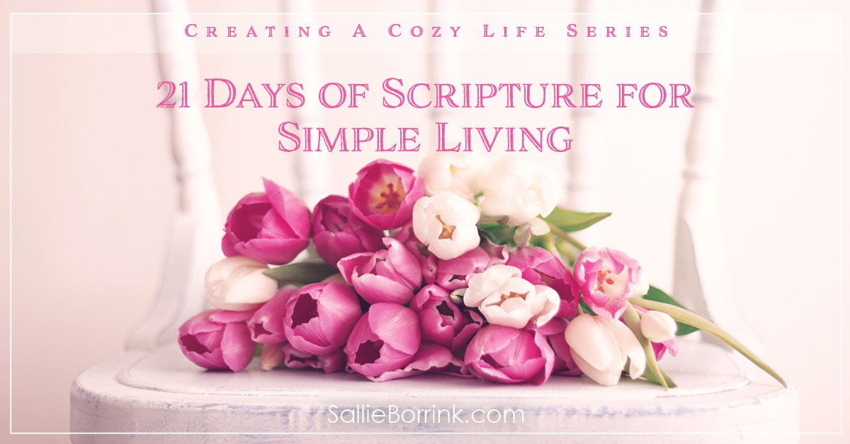 21 Days of Scripture for Simple Living Pin 2