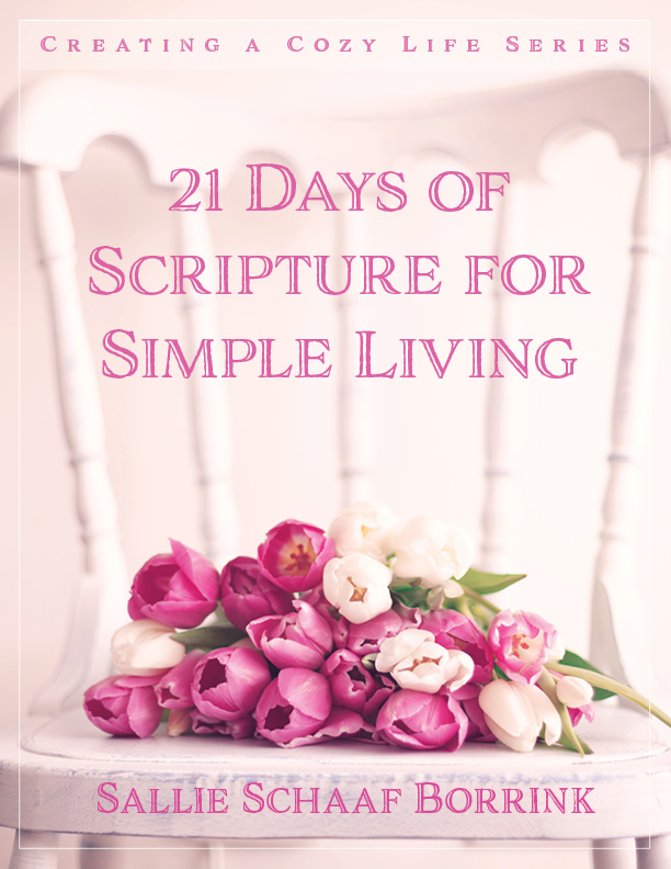 21 Days of Scripture for Simple Living