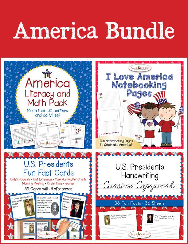 America Bundle - Cursive