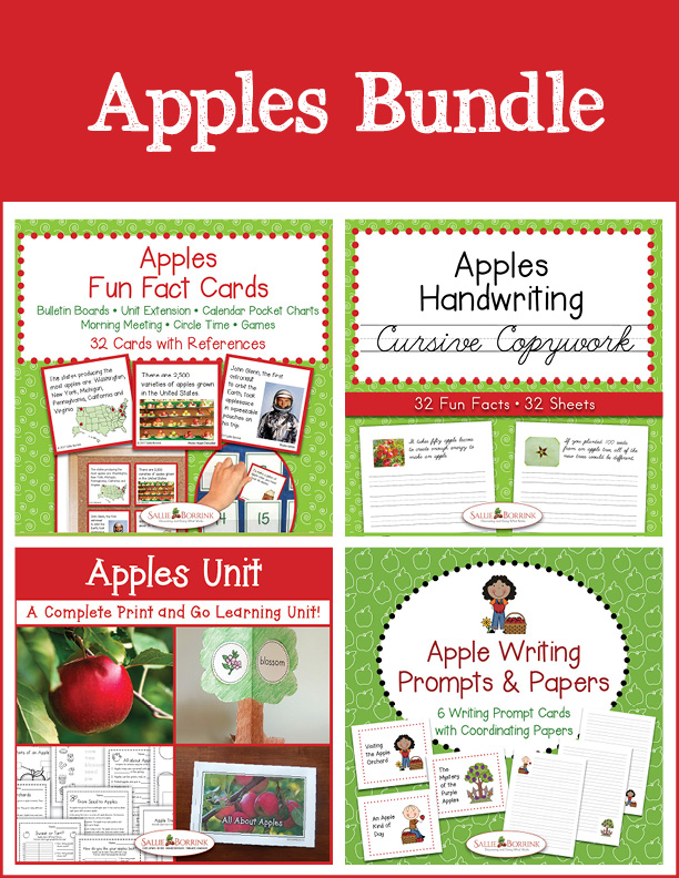 Apples Bundle - Cursive