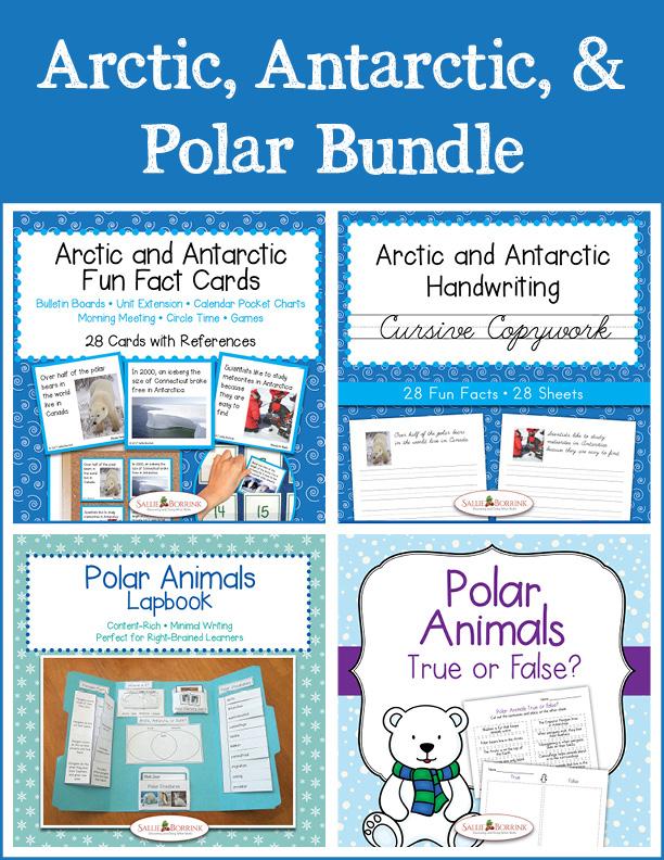 Arctic, Antarctic, and Polar Bundle - Cursive