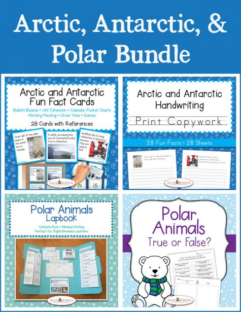Arctic, Antarctic, and Polar Bundle - Print
