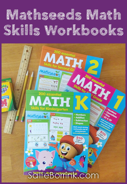 Mathseeds Math Skills Workbooks